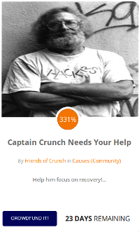 Captain Crunch needs your help